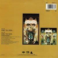 MICHAEL JACKSON Gone Too Soon Vinyl Record 7 Inch Epic 1993